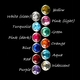 Choose one color for your gemstone...