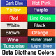 Choose one color for your halter.