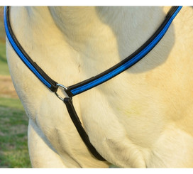 WESTERN BREAST COLLAR made from BETA BIOTHANE (Any 2 COLOR COMBO)
