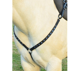 WESTERN BREAST COLLAR made from BETA BIOTHANE (with BLING)