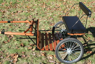 Quintessential Miniature Driving Cart