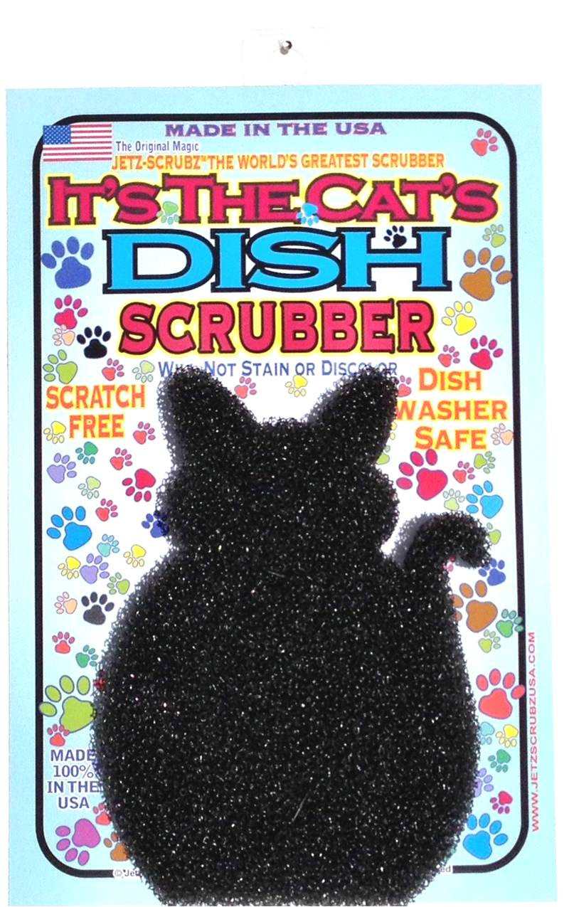 IT'S THE CATS OWN SCRUBZ PADZ