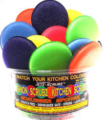 Match Your Kitchen Colors - Fashion Colored Jetz Scrubz