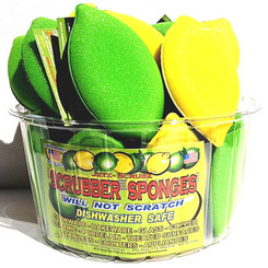 Limited Time Offer - Jetz Scrubz Combinations Scrubz & Sponge - LEMON or LIME