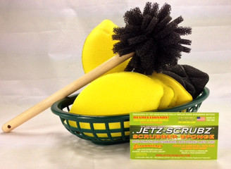 Jetz Scrubz 8 Piece LEMON Gift Set $24.99 Value