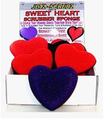 Jetz Scrubz Combination Scrubz & Sponge - Sweet Heart