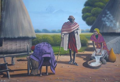 Kikuyu family