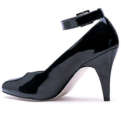 D Width Pump w Ankle Strap - Sizes 10 to 16