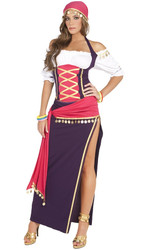 Gypsy Maiden Costume - Sizes up to 4X