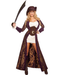 Decadent Pirate Diva Costume - Front - © 2016 Roma Costumes, Inc.