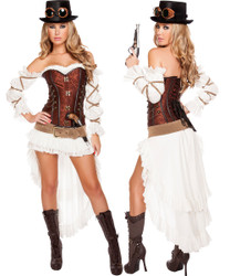 Steampunk Babe - Front / Back -  © 2016 Roma Costumes, Inc.
