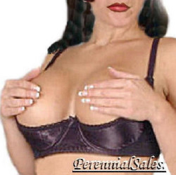 Shelf Bra - Satin - Fits D and MOST DD Cups - Multiple Colors Available - Sz 34 - 44