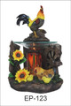 ROOSTER POLY RESIN OIL BURNER ET