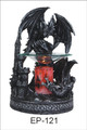 BLACK DRAGON POLY RESIN ELECTRIC OIL BURNER ET