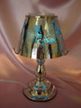 AROMA TOUCH TABLE LAMP BLUE BUTTERFLY METAL MM HP 0009