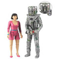 Doctor Who Peri and Rogue Cyberman Action Figures