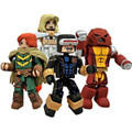 Diamond Select Toys Marvel Minimates 2012 SDCC San Diego Comic Con Exclusive 4Pack AVX Avengers Vs. X-Men