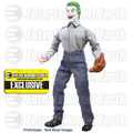 Batman Classic 1966 TV Prison Softball Joker 8-Inch Action Figure - Entertainment Earth Exclusive