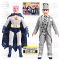 Batman Classic 1966 TV Series The Contaminated Cowl Batman vs. Mad Hatter 8-Inch Action Figure Set - EE Exclusive