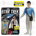 Star Trek: The Original Series Beaming Spock ReAction 3 3/4-Inch Retro Action Figure - EE Exclusive