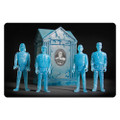 Universal Monsters ReAction Blue Glow Action Figures with Crypt - San Diego Comic-Con 2015 Exclusive