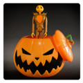 Nightmare Before Christmas Halloween Jack Skellington ReAction Figure in Pumpkin Ornament - SDCC 2015 Exclusive