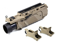 EGLM GRENADE LAUNCHER in Tan Plus 1 Extra SHS 40mm 96rd shell