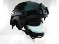 IBH Airsoft Helmet with Rails/NVG Mount in Black