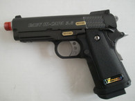WE 3.8 Baby Hi-Capa 1911 Full Metal Gas Blowback Pistol
