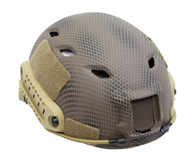 BJ Style Airsoft Tactical Helmet with Rails/NVG Mount in Navy Seal