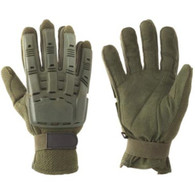 VALKEN V-Tac Full Finger Plastic Back Gloves XLarge OD