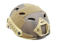 PJ Style Airsoft Tactical Helmet with Rails/NVG Mount in Navy Seal