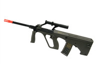 ASG Steyr AUG A1 Sportline Airsoft AEG Bullpup Rifle w/ Military Style Scope