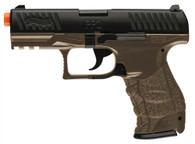 WALTHER PPQ DARK EARTH BROWN Spring pistol
