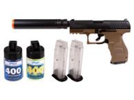WALTHER PPQ DE COMBAT KIT Spring pistol