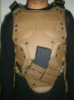 TF3 H Speed Tactical Vest Tan