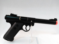 KJW Full Metal MK I Semi Auto Gas Non-Blowback Airsoft Pistol