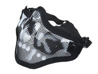 Valken Half Face Metal Mesh Mask in SK