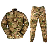 MULTI-CAM Camo BDU Uniform Set Large
