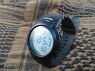 Military Style LED Watch Black