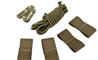 Valken DIY Retention Kit for Airsoft Helmets Tan