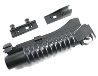 D-Boys 3-in-1 M203 Gas Powered 40mm Grenade Launcher Long Complete w/ Mount and Adapter