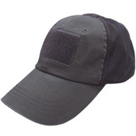Condor Black Tactical Mesh Cap
