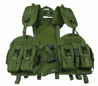 Tactical Vest w/removable Hydration Pouch in OD