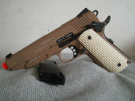 KWA 1911 MK II PTP Gas blow back Pistol in Tan