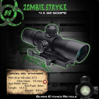 NCSTAR RED/GREEN DOT SCOPE BIOHAZRD RETICLE