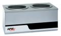 Countertop Warmer 120V , Dual 4 Qt.