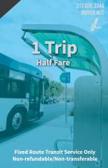 One Trip - Half Fare