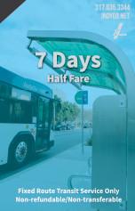 7 Days - Half Fare