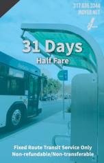 31 Days - Half Fare